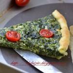Quiche spinaci, ricotta e feta greca