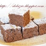 Brownies con miele