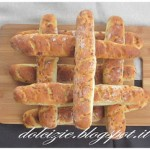 Baguettes al formaggio Asiago