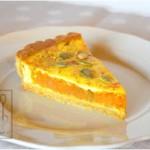 Torta salata con zucca, parmigiano e cipolla di Tropea