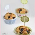 Muffin ai mirtilli con streusel