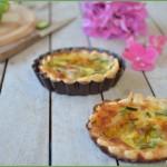 Miniquiche di zucchine e fontina