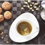 Biscotti con burro di arachidi e gocce di cioccolato