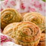Muffin zucchine, mele e noci