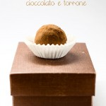 Tartufi cioccolato e torrone