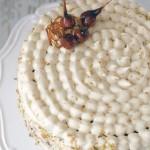 Torta di carote con frosting allo sciroppo d'acero -Re-Cake #03