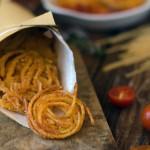 Spaghetti Fritti al Pomodoro