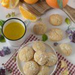 Biscotti morbidi cocco e arancia