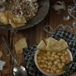 Zuppa di Ceci, Alloro e Aglio Rosso