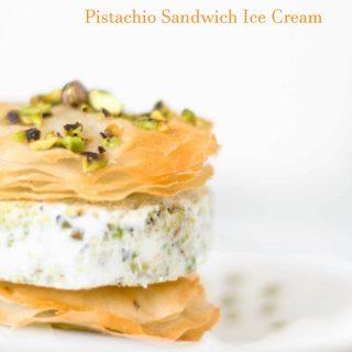 Sandwich di baklava con gelato #Re-Cake 16